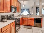 Prepare your favorite meals in the residence's large, fully equipped kitchen.