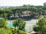 Tennis courts, available to our guests.