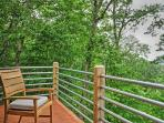 You'll love the view from the deck.