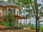 Take in the beauty surrounding this Gaylesville vacation rental home.