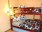 Bedroom 2  Twin/Full bunk bed and Trundle