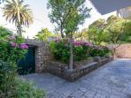 House garden and terrace