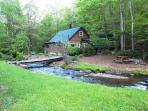 Enjoy The Sound of Rushing Water,& Hot Tub!  AVAILABLE FOR EASTER 2018!
