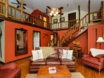 Spacious Loft Above Living Room