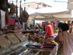 Friday market in Palau