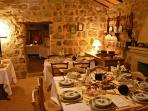Fabulous Sardinian food at nearby restaurants