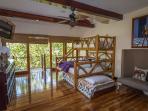 Upstairs bunk bedroom, sleeps 4