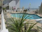Pool Side Condo Virginia Beach Ocean View by Va Beach Boardwalk