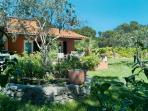 Vue extérieur avec le jardin
