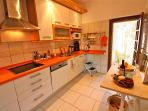 Full equipped modern kitchen to prepare delicious meals