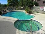 Communal pool and spa