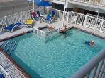 1 of 2 heated pools