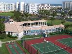 Tennis courts, Shuffleboard court, Bocci court