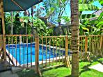 pool fence is available for your peace of mind with your children