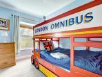 Delightful bunk bedded room