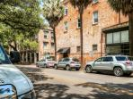 You're always welcome at this Savannah vacation rental condo.