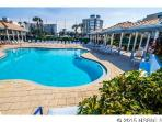 2 heated pools with spa jacuzzis