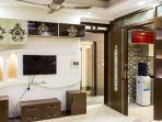 Living Room LED TV Unit & Entrance