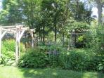 The arbor and the swing