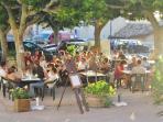 Restaurants Régionaux en plein aire.