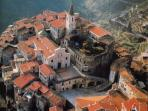Apricale, another lovely village of the Nervia valley.