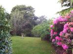 Parkland gardens.