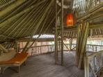 Recreational Space inside the Bamboo Green Barn
