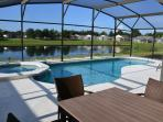 100% South facing Pool and Jacuzzi deck