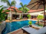 Lounge by the pool