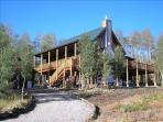Beautiful Log Mountain Home, Fairplay, CO