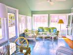 Enjoy our large, light-filled sunporch