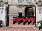 Changing of the Guards:  Buckingham Palace 10-15 minutes walk from house