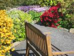Relax in the cottage garden after your day out exploring the beautiful Borders countryside.