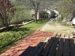 Porxo i terrassa planta baixa