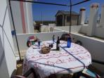 Dining 'Al fresco'at apartamento Vistamar.