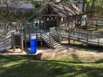 Town playground 1 mile away