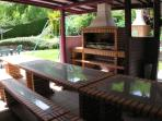 Villa Gentiane - espace barbecue