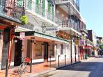 'Sites Close To the Condo'--French Quarter. 8 minute car ride from Our Condo.