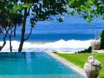 Swimming pool overlooking the ocean