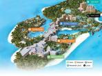 Map of Paradise Island
