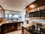You'll love preparing delicious home-cooked meals in the fully equipped kitchen
