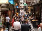 DeGraves St is just a tram ride away.