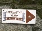 L'antico percorso escursionistico Strada Regia passa attraverso Nesso e si collega Como a Bellagio.