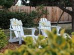 Your adirondack chairs in front yard