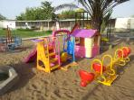 children playing area