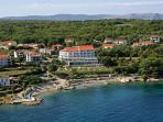 The local beach 'Uhlic'