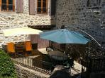 Terrasse disponible pour les visiteurs