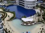 Azure Urban Resort Residence Paris Hilton is a sweet escape with Wave Pool and Man Made Beach