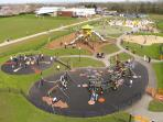 children play area - 2 mins walk and a great place to play