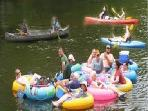 You can join the fun here or just relax and watch people float by.